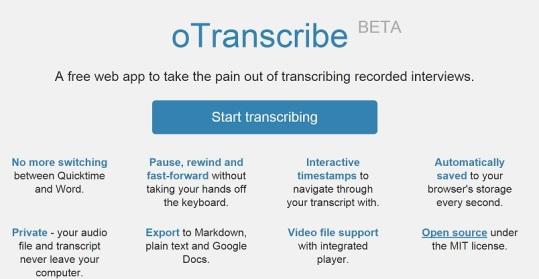 screenshot-oTranscribe