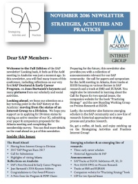 sap-newsletter-cover
